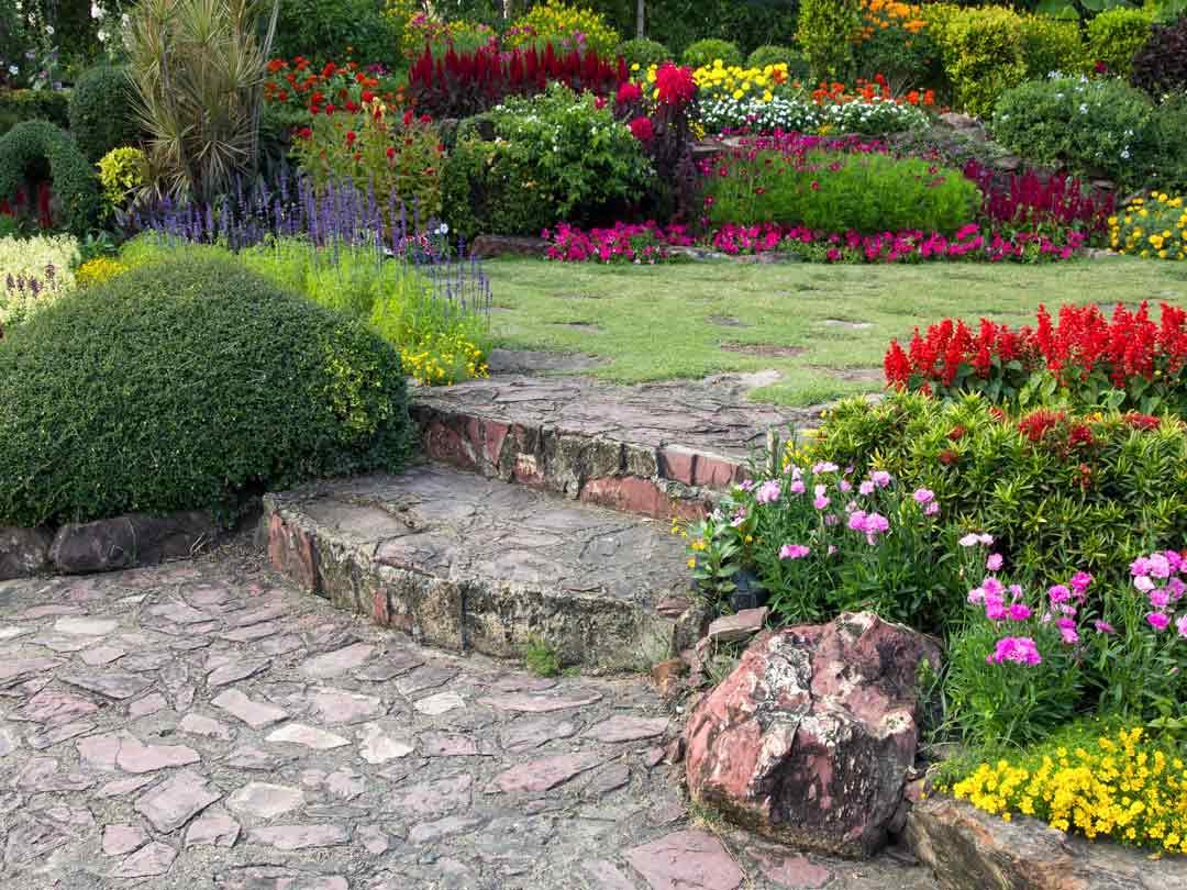 escalera jardin plantarmadrid